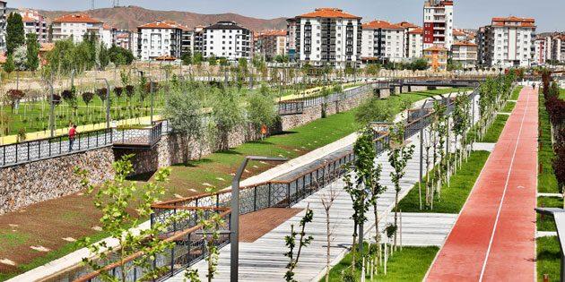 Recep Tayyip Erdoğan Gençlik Parkı açılıyor