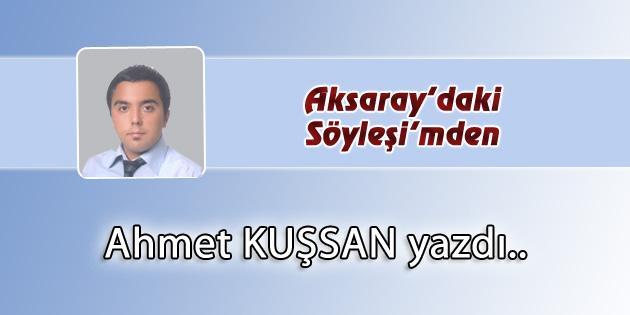 Aksaray'daki Söyleşi'mden