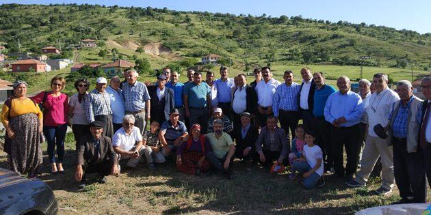 Helvadere ve Gülağaç'tan İYİ Parti adaylarına tam destek