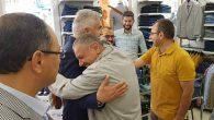 MHP adaylarına esnaftan sıcak karşılama