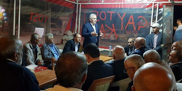MHP adayları Topakkaya ve Bağlıkaya'da