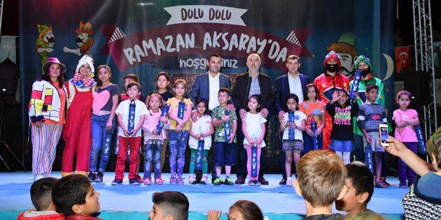 Vekiller ve Başkanlar Ramazan Sokağı'na konuk oldular