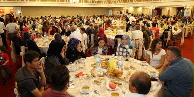 Şehit Aileleri ve Gaziler onuruna iftar yemeği düzenlendi