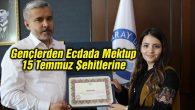 Rektör Şahin'den yarışma birincisine başarı belgesi