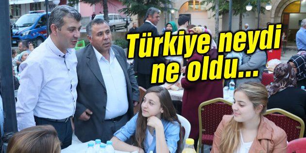 Altınsoy: Türkiye neydi, ne oldu