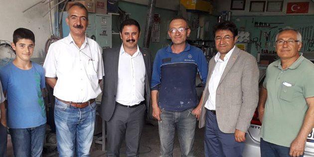 CHP, sanayi esnafının sorunlarını dinledi
