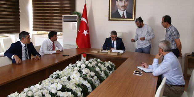 Sultanhanı Hükümet Konağı proje çalışmaları değerlendirildi