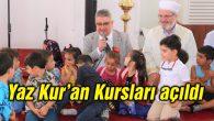 Aksaray'da yaz Kur'an Kursları açıldı