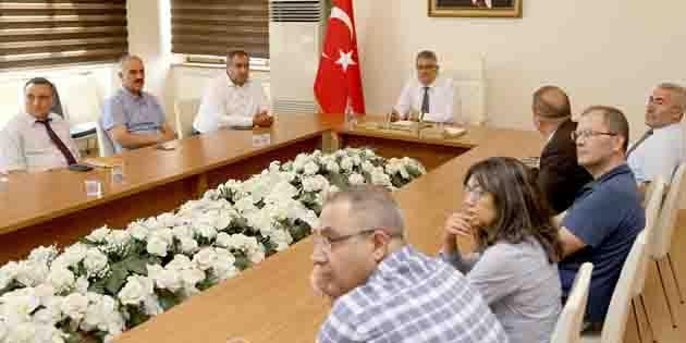 Toprak Koruma Kurulu Toplantısı gerçekleştirildi