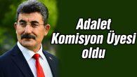 Ayhan Erel Adalet Komisyon üyesi oldu