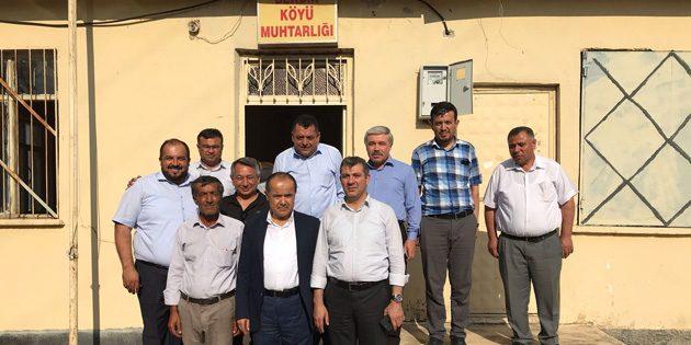 Ak Parti heyeti köy ziyaretlerine devam ediyor