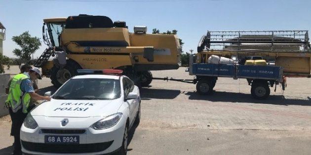 Aksaray'da tarım aracı denetimi