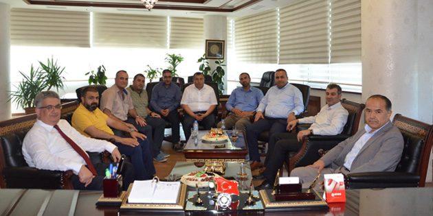 AK Parti'den ATSO'ya ziyaret