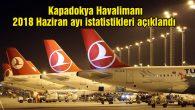 Kapadokya Havalimanı 2018 Haziran ayı istatistikleri açıklandı