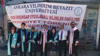 Şereflikoçhisar'daki mezuniyetleri AYBÜ düzenledi