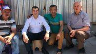 İl Başkanı Altınsoy, vatandaşın hayır duasını alıyor