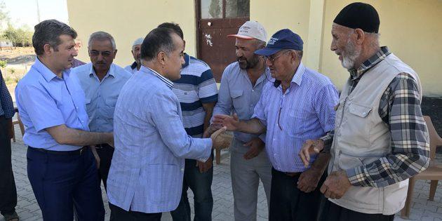 Milletvekili Aydoğdu Eskil ilçesine bağlı köyleri ziyaret etti