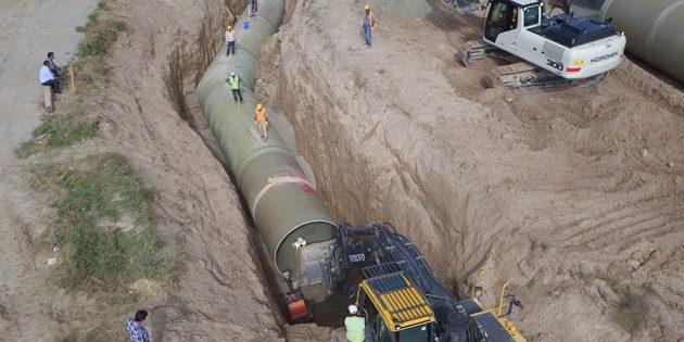 Kapalı Sistem Sulama Projesi çalışmaları devam ediyor