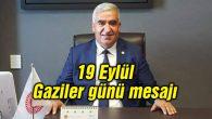 Milletvekili Kaşlı'nın 19 Eylül Gaziler günü mesajı