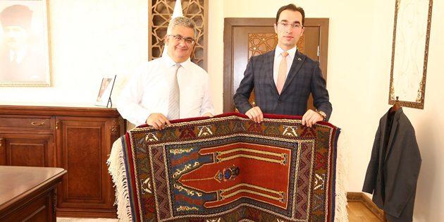 Kaymakamlar'dan Vali Aykut Pekmez'e ziyaret