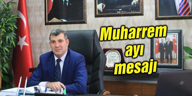 Altınsoy'un Muharrem ayı mesajı
