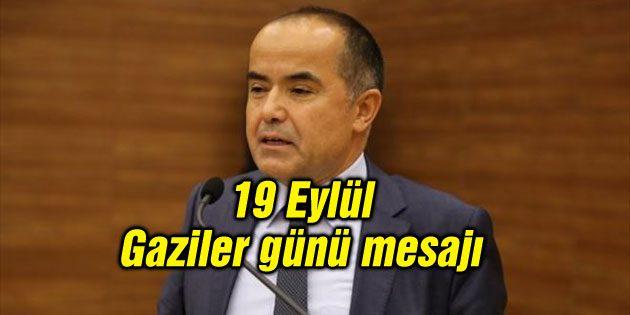 Milletvekili Aydoğdu'nun 19 Eylül Gaziler günü mesajı