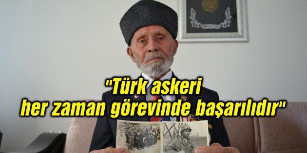 """""""Türk askeri her zaman görevinde başarılıdır"""""""