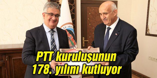 PTT kuruluşunun 178. yılını kutluyor