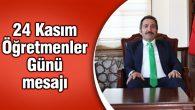 """Aksaray Valisi Mantı'dan """"Öğretmenler Günü"""" mesajı"""