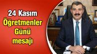 Ak Parti İl Başkanı Altınsoy'un 24 Kasım mesajı