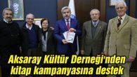Aksaray Kültür Derneği'nden kitap kampanyasına destek