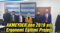 AKMEYDER'den 2019 yılı Ergonomi Eğitimi Projesi