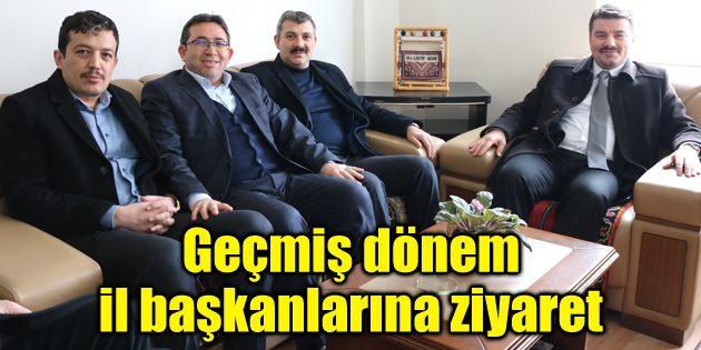 Ak Parti adayı Dinçer'den geçmiş dönem il başkanlarına ziyaret