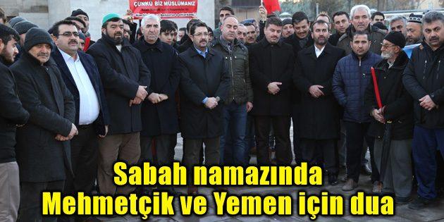 Sabah namazında Mehmetçik ve Yemen için dua
