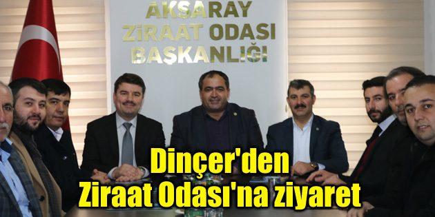 Ak Parti adayı Dinçer'den Ziraat Odası'na ziyaret