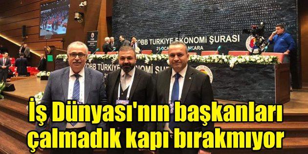 Ekonomi Şûrası'nda Aksaray'ın talepleri dile getirildi