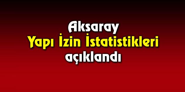 Aksaray'da 3 bin 241 daireye yapı ruhsatı verildi