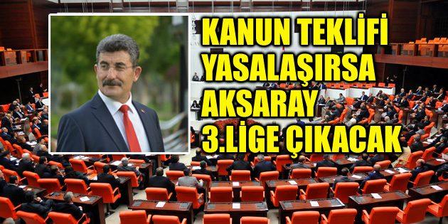 Ayhan Erel'den '3'üncü Lig' teklifi