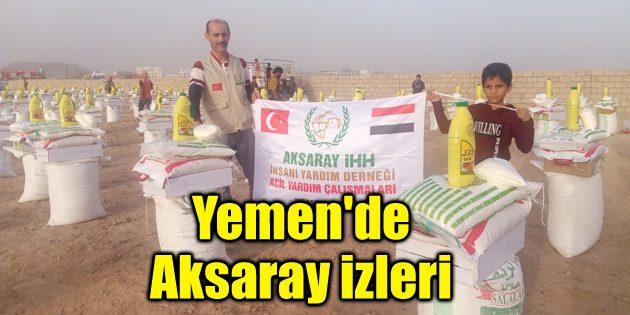 Yemen'de Aksaray izleri