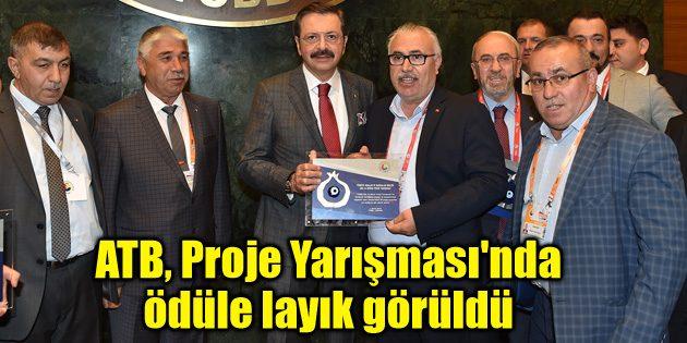Ticaret Borsası, Proje Yarışması'nda ödüle layık görüldü