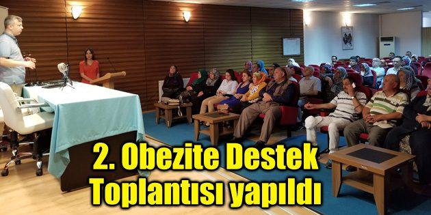 2. Obezite Destek Toplantısı yapıldı