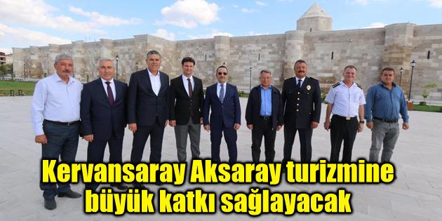 Selçuklu şaheseri Aksaray turizmine büyük katkı sağlayacak