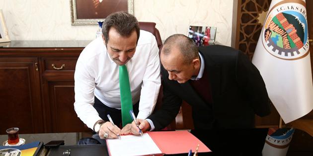 Aksaray OSB'ye yatırımlar devam ediyor