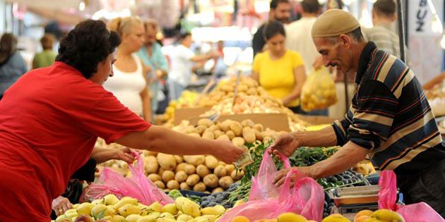 Aksaray'da TÜFE yıllık %16,69, aylık %1,09 arttı