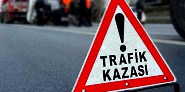 Aksaray'da 5 aracın karıştığı kazada 1 kişi yaralandı