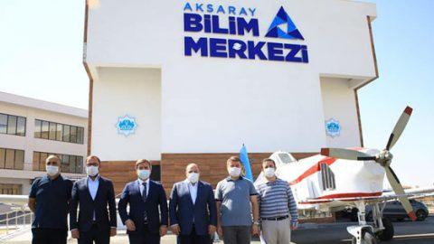 Sanayi ve Teknoloji Bakanı Varank, Aksaray'da