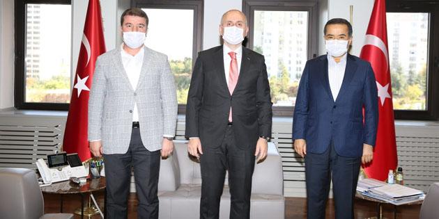 Aksaray'ın ulaşım ve altyapı konuları bakanlık düzeyine taşındı