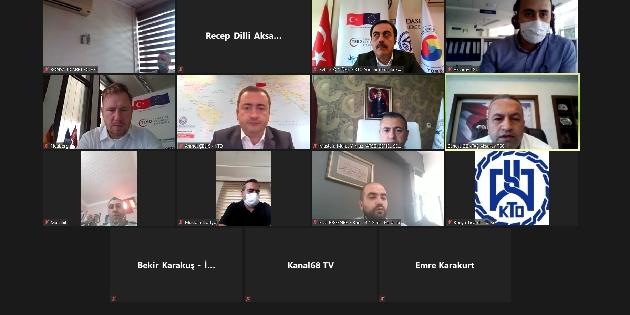 ATSO Üye Hizmet Merkezi tanıtım toplantısı yapıldı