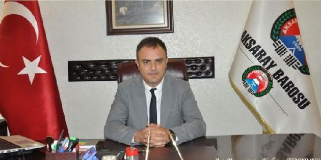Aksaray Barosu'ndan Azerbaycan Barosu'na mektup