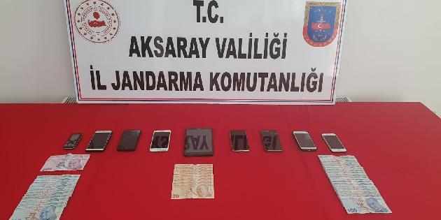 Aksaray'da dolandırıcılık operasyonu: 12 gözaltı